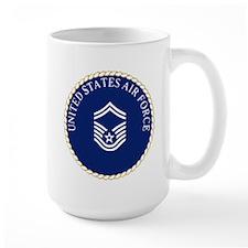 USAFSeniorMasterSergeantCapCrest Mugs