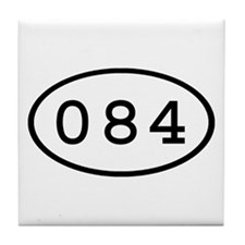 084 Oval Tile Coaster