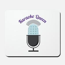 Karoke Queen Mousepad