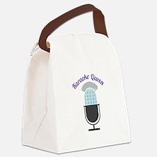Karoke Queen Canvas Lunch Bag