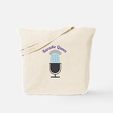 Karoke Queen Tote Bag