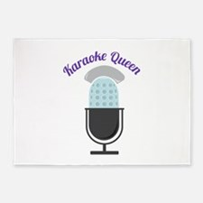 Karoke Queen 5'x7'Area Rug