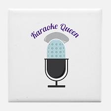 Karoke Queen Tile Coaster