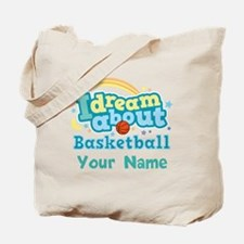 Basketball Sports personalized Tote Bag