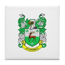 O'CONNELL Coat of Arms Tile Coaster