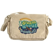 I Dream About Snow Messenger Bag