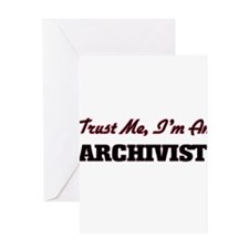 Trust me I'm an Archivist Greeting Cards