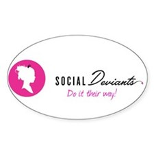 Social Deviants do it their way! Decal