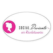 Social Deviants are Revelationaries Decal
