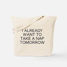 I Nap Tote Bag