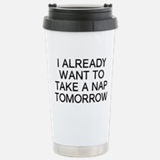 I Nap Stainless Steel Travel Mug