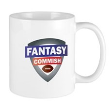 Fantsy Commish Shield Mugs