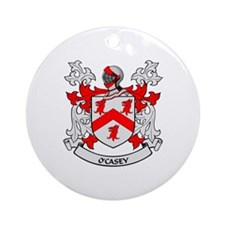 O'CASEY 2 Coat of Arms Ornament (Round)
