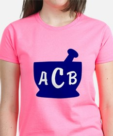 Blue Monogram Mortar and Pest Tee