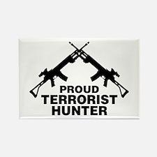Proud Terrorist Hunter Rectangle Magnet
