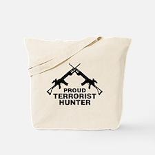 Proud Terrorist Hunter Tote Bag