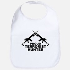 Proud Terrorist Hunter Bib