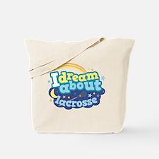 Lacrosse Sports dream Tote Bag