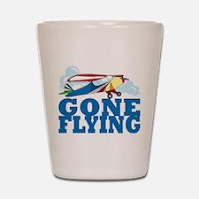 Flying Shot Glass