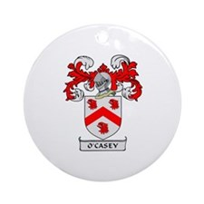 O'CASEY 1 Coat of Arms Ornament (Round)