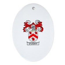 O'CASEY 1 Coat of Arms Oval Ornament