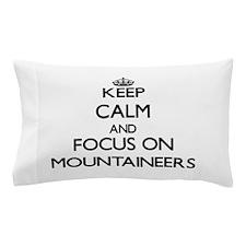 Funny Rockclimber Pillow Case