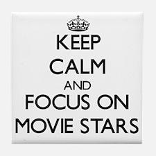 Cute Moviestar Tile Coaster
