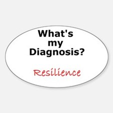 Resilience Oval Decal
