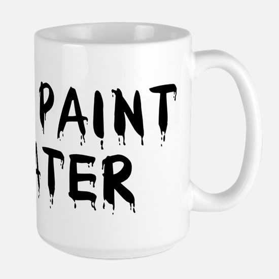 Paint Water Coffee Large Mug