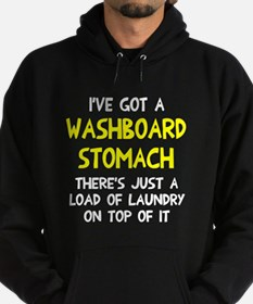 Washboard Stomach Laundry Hoodie