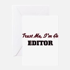 Trust me I'm an Editor Greeting Cards
