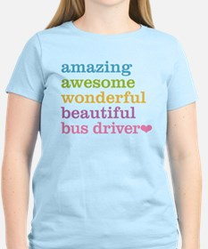 Amazing Bus Driver T-Shirt
