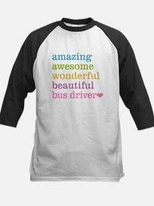 Amazing Bus Driver Baseball Jersey