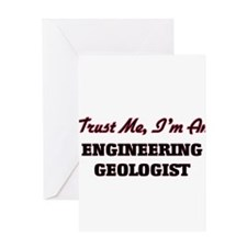 Trust me I'm an Engineering Geologist Greeting Car