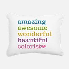 Cute Color Rectangular Canvas Pillow
