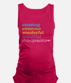 Unique Chiropractic Maternity Tank Top