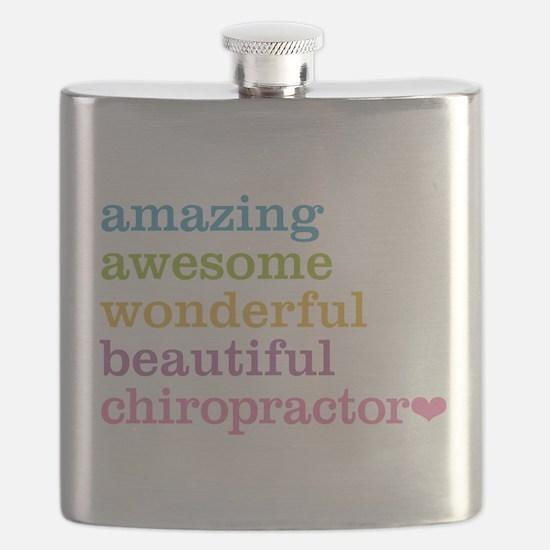 Unique Chiropractor Flask