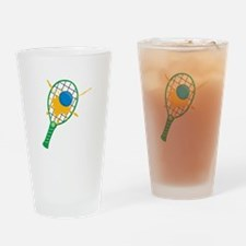 Racquetball Drinking Glass