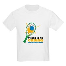 No Crying In Racquetball T-Shirt