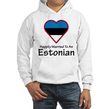 Happily Married Estonian Hoodie