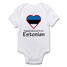 Happily Married Estonian Infant Bodysuit