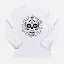 Sugar Skull Long Sleeve Infant T-Shirt