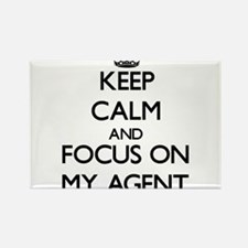 Keep Calm and focus on My Agent Magnets