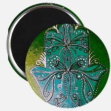 Hamsa (hand) Fatima Hand Painting Magnets