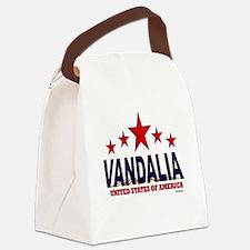 Vandalia U.S.A. Canvas Lunch Bag