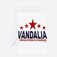 Vandalia U.S.A. Greeting Card