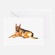 German Shepard Dog Greeting Cards (Pk of 10)