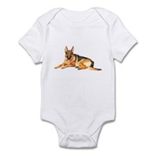 German Shepard Dog Infant Bodysuit