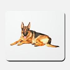 German Shepard Dog Mousepad