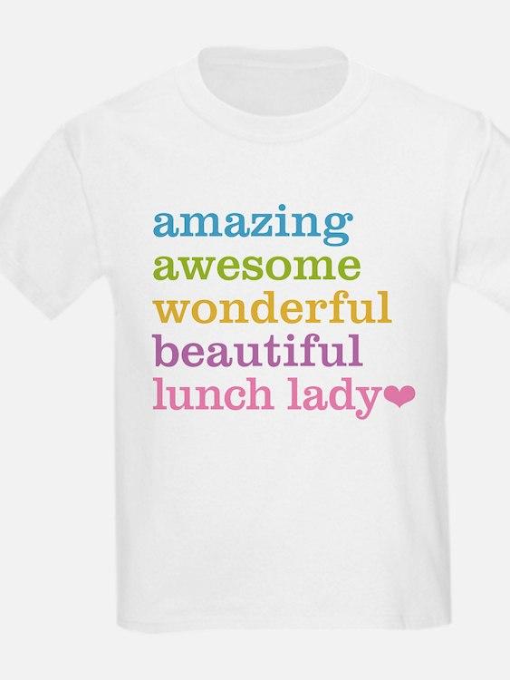 Amazing Lunch Lady T-Shirt